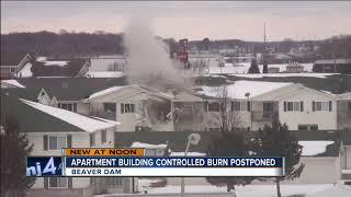 Demolition of Beaver Dam apartment building postponed