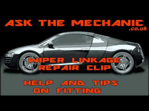 popping simple clip off wiper windscreen kit repair fitting fix motor fiat fit itm easy linkage punto arms