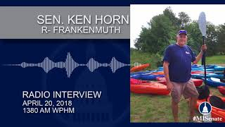 Sen. Horn discusses removing fees for kayaks and canoes on WPHM