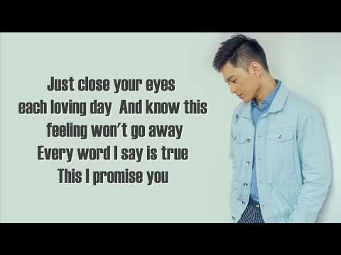 Jeremy Glinoga - This I Promise You (cover) (Lyrics)