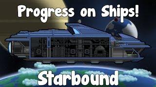 Floran Ship Upgrades & Hylotl Ship! - Starbound! - Site Update!