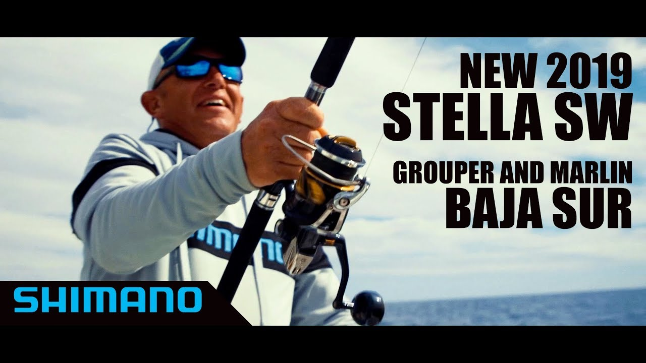 Introducing the New Shimano Stella SW Spinning Reel - On The