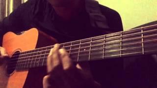 Jazz guitar solo lick