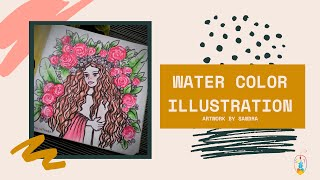 Water Color Illustrations | Learn to make beautiful water color artwork in no time!!