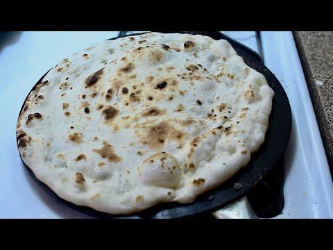 خبز التنور بدون فرن او تنور Tanoor Bread Without Oven Or Tanoor Youtube