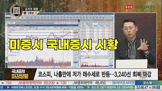 미증시,시황,국채금리,국내증시 내외경제TV 종목의제왕 …