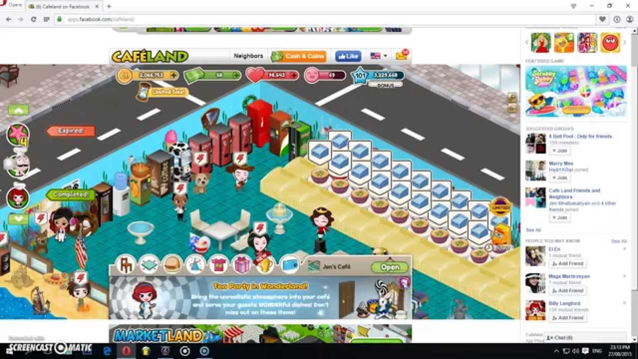Cafeland - World Kitchen - YouTube Gaming