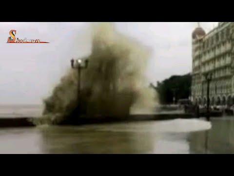 "High tide ""MINI TSUNAMI"" in different part of mumbai,gateway of India,Nariman point,haji ali,2017"