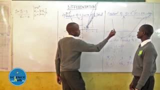 The Corner Brook School   FORM 4 Maths  LESSON 3 Differentiation KCSE Revision 2016