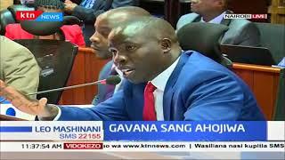 Gavana wa Nandi afika mbele ya bunge la seneti kuhojiwa kutokna na matumizi ya pesa za umma