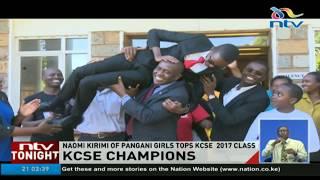 Naomi Karimi of Pangani girls tops KCSE 2017 class