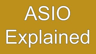 Recording Music? Use ASIO! Here's Why...