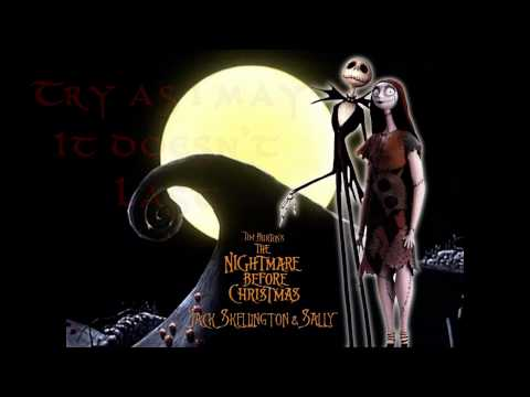 Jack & Sally's Song (ORIGINAL) - The Nightmare Before Christmas