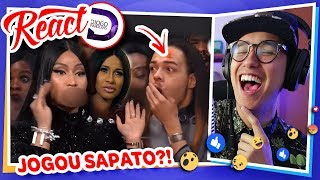 "React ""treta Pop  Nicki Minaj Vs Cardi B"" 