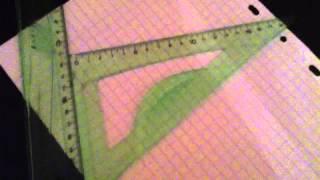 comment dessiner 2 droites parallèles
