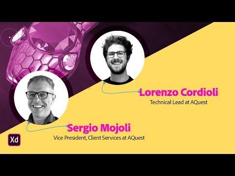 Live from AWWWARDS with Lorenzo Cordioli and Sergio Mojoli