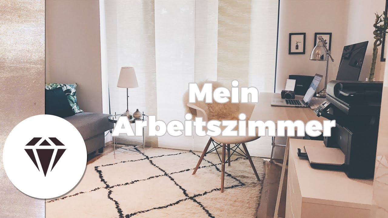 arbeitszimmer inspiration i einrichtung deko tipps i interiordesign by nela lee youtube. Black Bedroom Furniture Sets. Home Design Ideas