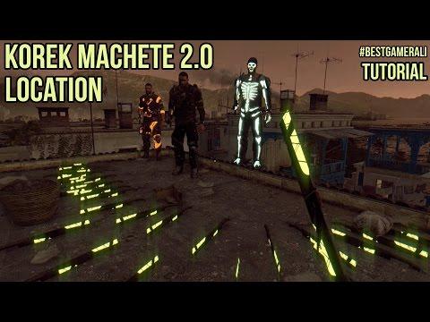 Dying Light - Korek Machete V2 Blueprint Location Tutorial
