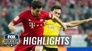 Bayern Munich Vs. Borussia Dortmund  - 2015–16 Bundesliga Highlights