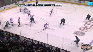 Rangers @ Sharks Highlights 10/08/13