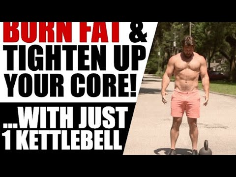 50 Rep Single Kettlebell GRIND [Torch Your Core AND Body Fat] | Chandler Marchman