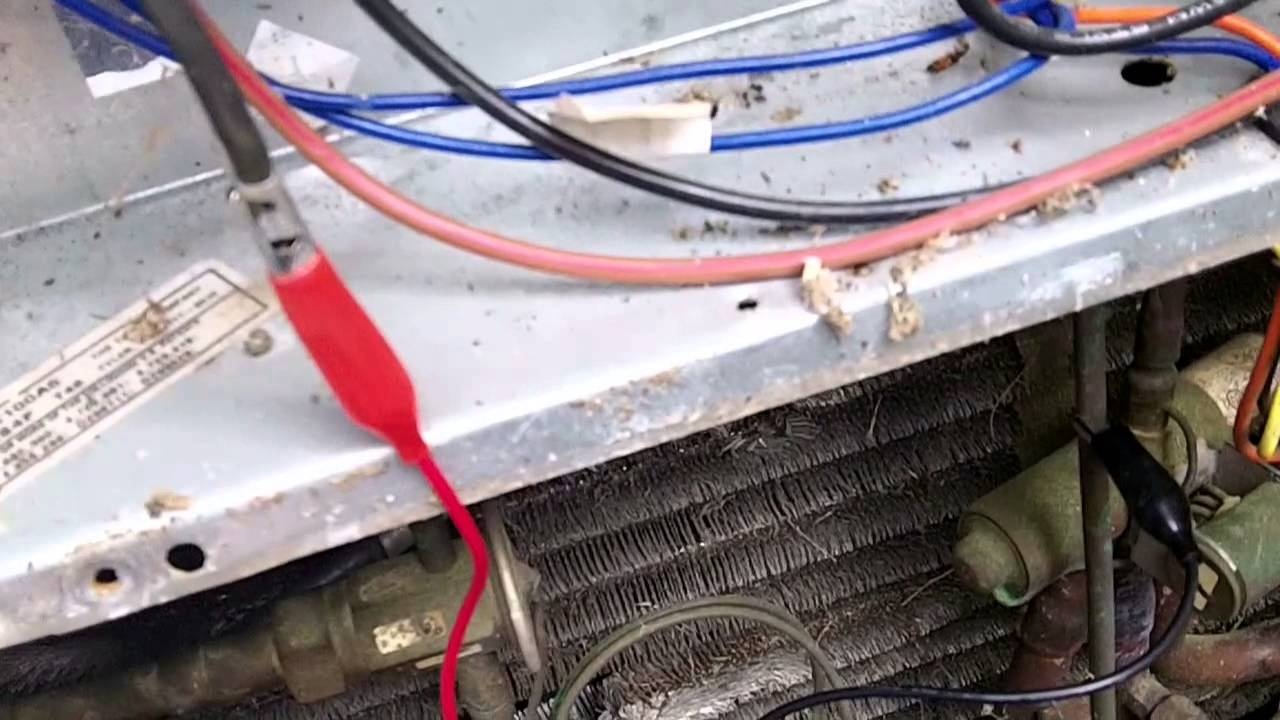 maxresdefault tripping hvac breaker, bad crankcase heater youtube trane xl1800 wiring diagram at virtualis.co