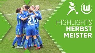 Kantersieg zur Herbstmeisterschaft   1. FC Köln - VfL Wolfsburg    Highlights   Frauen Bundesliga
