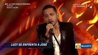 #José #Gaona interpreta Mujer en los cuatro finalistas