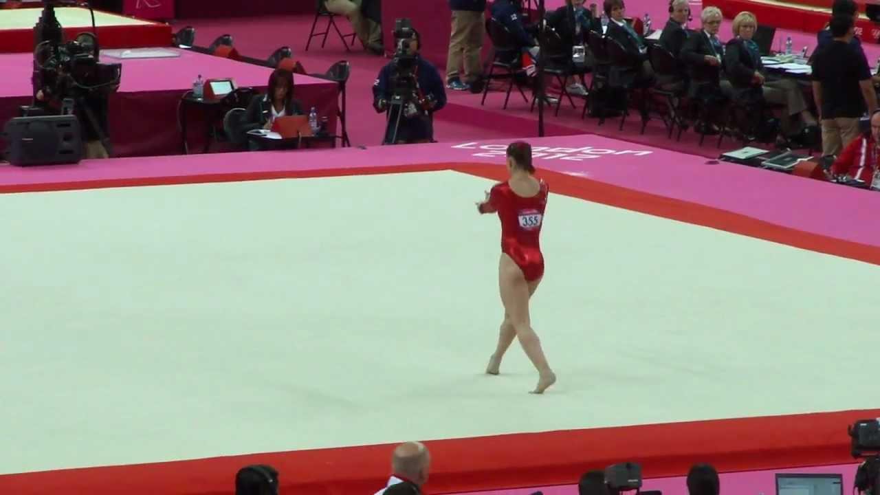 Hannah Whelan 2012 Olympics QF FX - YouTube