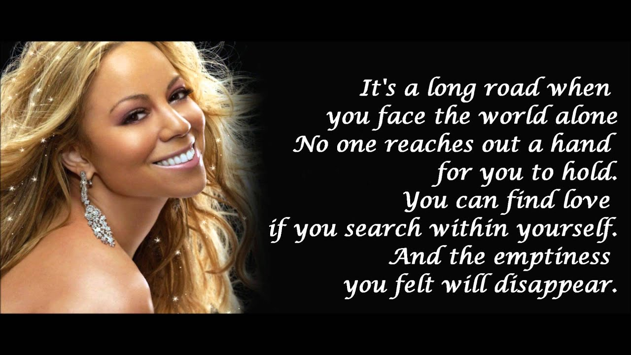 Www mariah carey lyrics