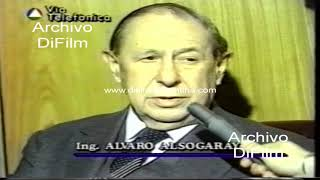 Alvaro Alsogaray opina del plan de convertibilidad 1994