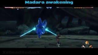 Naruto Shippuden: Ultimate Ninja Storm 4: Madara Uchiha (Black Robe) All Moves and Awakening