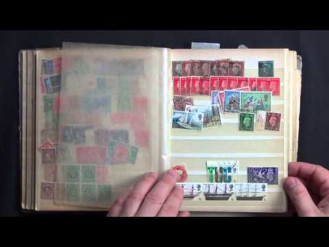 Great Britain 1840-1980's Stamp Collectors Gold Mine!