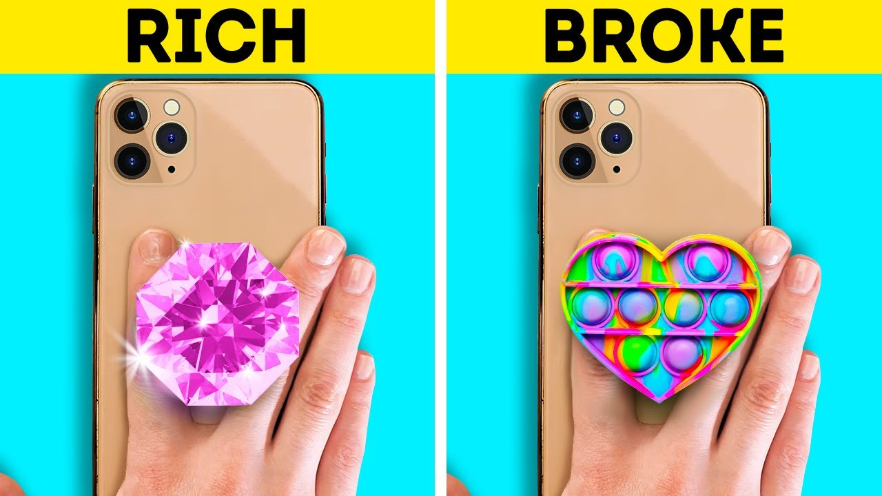 Satisfying And Beautiful Phone Case DIY Ideas With Glue Gun, Polymer Clay, 3D-Pen And Resin