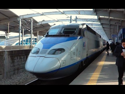 BULLET TRAIN! - [Touring South Korea Day 5]