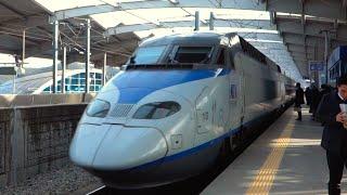 BULLET TRAIN! - [Touring South Korea Day 5]