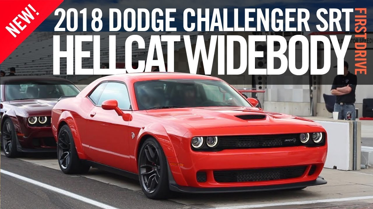 2018 Dodge Challenger Srt Hellcat Widebody First Drive Review Test