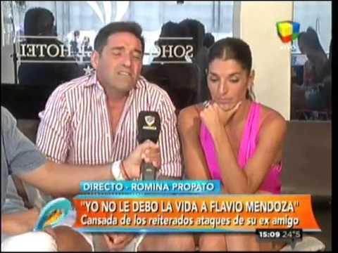 Romina Propato rompió el silencio y habló de su pelea con Flavio Mendoza