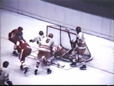 1971 NCAA Hockey Championship - Boston University vs. Minnesota
