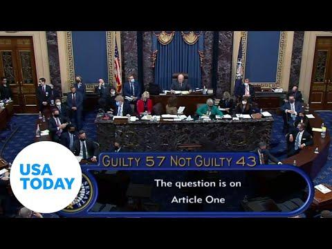Trump impeachment trial vote acquits him in historic second impeachment proceeding | USA TODAY