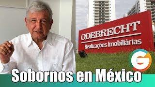 AMLO : Sobornos de Odebrecht en México