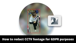 How to Blur CCTV footage...