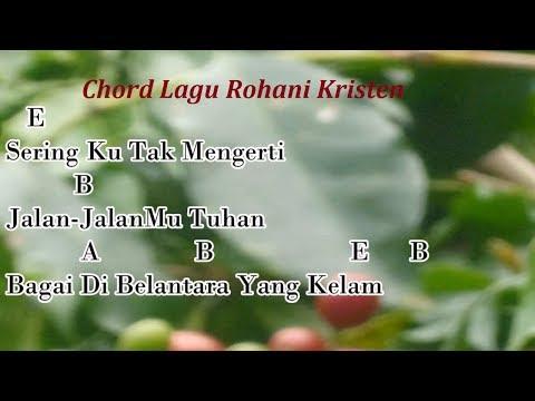 JEJAKMU TUHAN (Lagu Rohani Kristen) | Kunci Gitar dan Lirik Lagu -cover