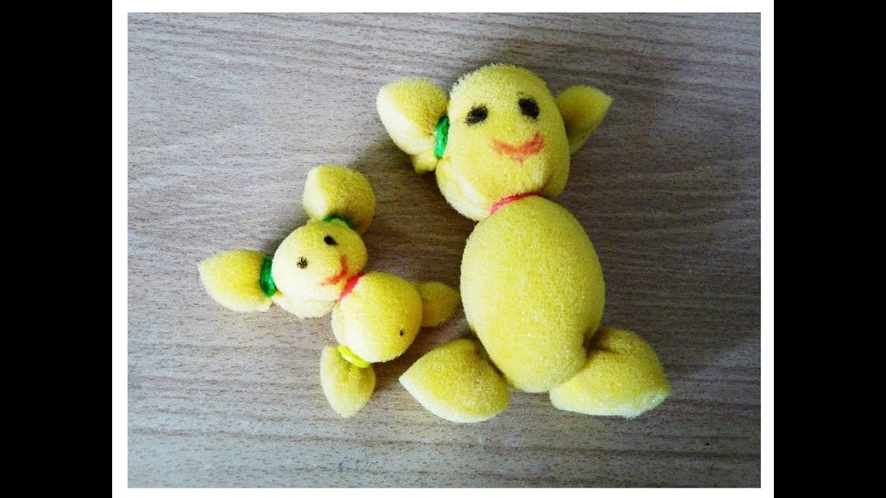How To Make Soft Toys At Home Free