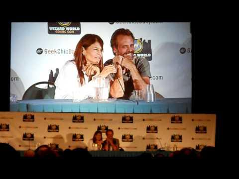 Linda Hamilton & Michael Biehn at Comic-Con Chicago 2010