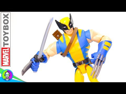 """WOLVERINE"" Marvel Toybox Figure Review 