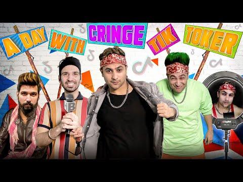 A Day With Cringe TikToker | Harsh Beniwal