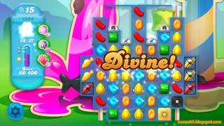 Candy Crush Soda Saga Level 1324 (3 stars, No boosters)