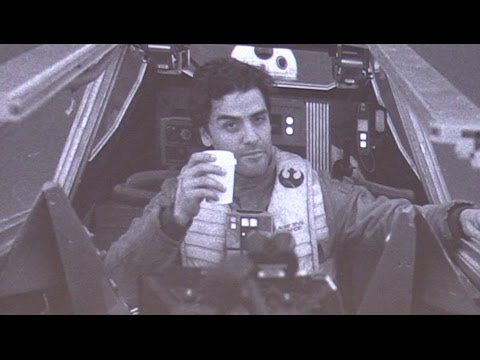 """""""The Last Jedi"""" behind-the-scenes photos from director Rian Johnson at Star Wars Celebration 2017"""