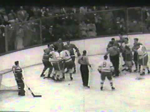 1954 Stanley Cup Finals Highlight Film - Canadiens vs. Red Wings